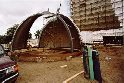 Observatory Dome Construction